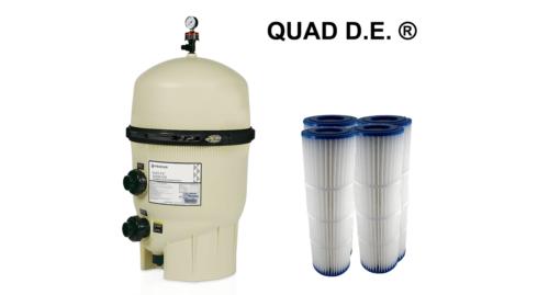 Диатомитовые фильтры Quad DE
