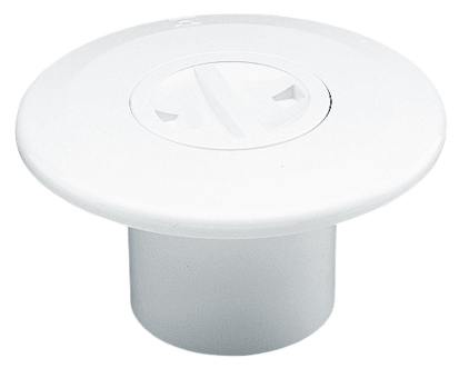 Форсунка пылесоса, пластик, вклейка в трубу 2″ наруж., 50 мм внутр