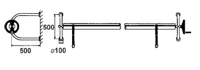 Настенная опора для ролеты - изображение 2