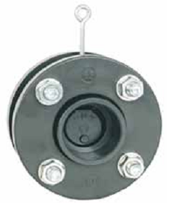 Обратный клапан лепестковый без пружины с фланцами 140 мм
