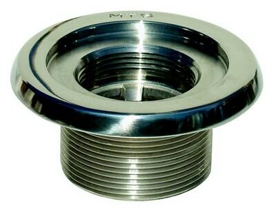 """Закладной элемент MTS, нерж. сталь, 40 мм AG R 2"""" х R 11/2"""" IG резьба 40 мм"""