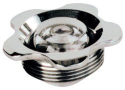 Впускная форсунка MTS, нерж. сталь, прозрачный шарик 9 мм