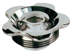 Впускная форсунка MTS, нерж. сталь, прозрачный шарик 18 мм
