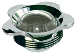 Впускная форсунка MTS, нерж. сталь, прозрачный шарик 25 мм