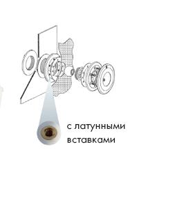 Форсуночный набор VА, с латунными вставками, под пленку, включая контргайку - изображение 2
