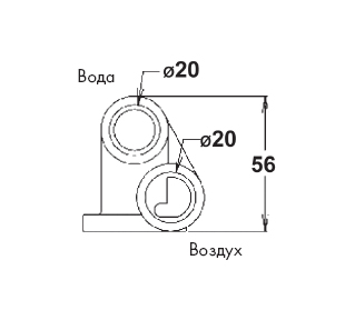 Микрофорсунка chrom (ABS) - изображение 2