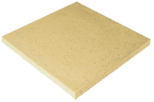 Камень копинговый террасный, плита 500х500 мм серия Sahara (песочный цвет)