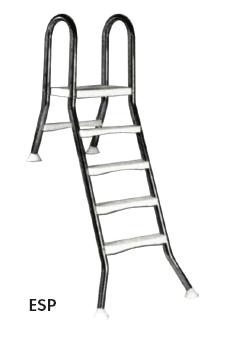 Лестница 5+1 ступ.(для сборных наземных бассейнов h=1,5 м)