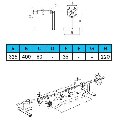 Ролета навивочная передвижная в комплекте — 5,4 м - изображение 2