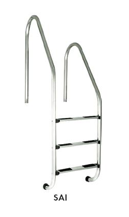 Лестница ассиметричная , четыре ступени (STANDARD)