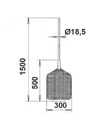 Сачок Де Люкс 500 х 300 мм с алюминиевой ручкой - изображение 2