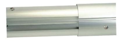 Телескопическая навивочная штанга 2,7 — 4,4 м