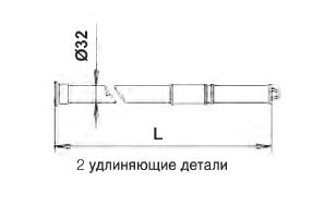 Телескопическая штанга 3,7-7,2 м - изображение 2