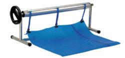 Ролета навивочная передвижная — т- стойки в комплекте — 4,4 м