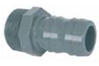 Насадка на шланг с резьбой 50 мм -1 1/2″ резьба наружная