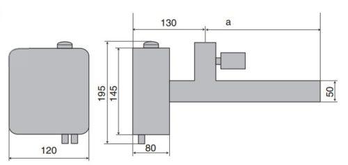 Электронагреватель EOV- 15кВт , нерж.сталь с датчиком давления - изображение 2