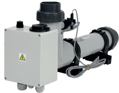 Электронагреватель EOVTI- 12кВт Titan , пластик с реле протока