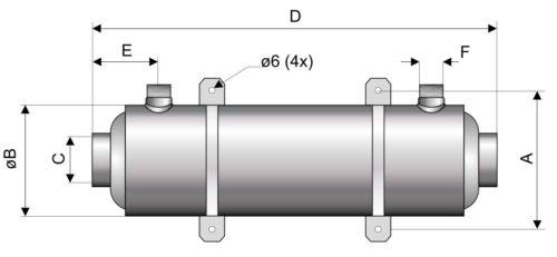 Теплообменник Hi-Flo 28кВт, спиральный - изображение 2