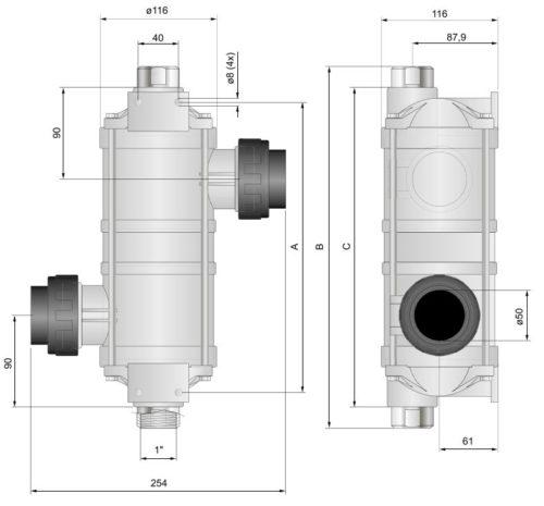 Теплообменник  Hi-Temp 75 кВт - изображение 2