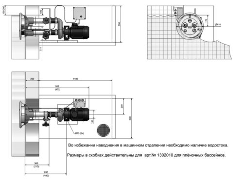Устройство противотечения Jet Swim 2000 под пленку - изображение 3