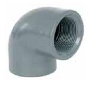 Колено 90° 63 мм х 1 1/2″ резьба внутренняя