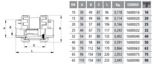 Обратный клапан с пружиной 20 мм клеевой - изображение 2