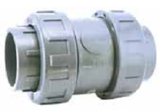 Обратный клапан без пружины (шаровой) 20 мм клеевой