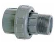 Разъемное соединение (американка) с наружной резьбой 50 мм х 2″