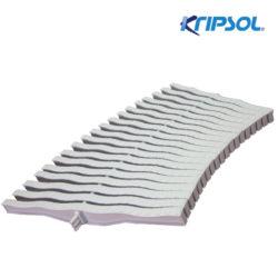 Бортовая решетка Kripsol, Curved 20 , ширина 195 мм, высота 20 мм