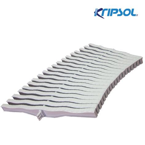 Бортовая решетка Kripsol, Curved 20 , ширина 295 мм, высота 20 мм