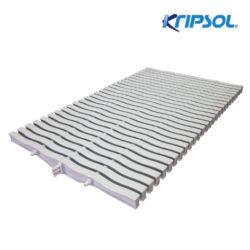 Бортовая решетка Kripsol, Straight 20 , ширина 195 мм, высота 20 мм