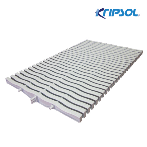 Бортовая решетка Kripsol, Straight 20 , ширина 245 мм, высота 20 мм