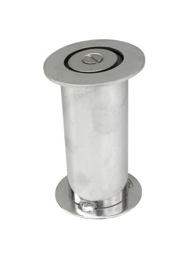 Закладная для опорной стойки Ø 43 мм , наклонная