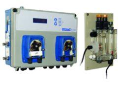 Измерительно-дозирующая станция  POOL BASIC PRO pH , свободный хлор с ячейкой и насосами 1,5 л/ч