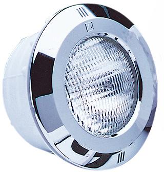 Светильник Standart 300 Вт пластик + нерж.обод, под пленку, с кабелем 2,5м