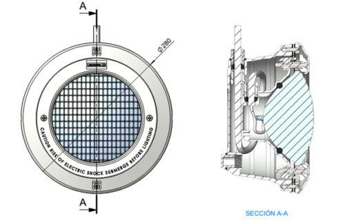 Светильник Standart 300 Вт пластик , под пленку, с кабелем 2,5м - изображение 2
