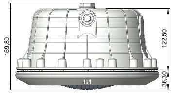Светильник Standart 300 Вт пластик , под пленку, с кабелем 2,5м - изображение 3