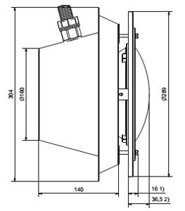 Подводный прожектор 300 Вт/12В Pahlen 300A нерж.сталь под бетон - изображение 2