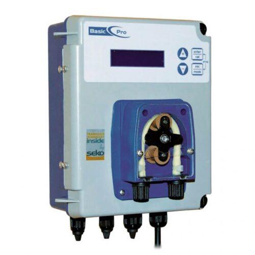Измерительно-дозирующий прибор PoolBasic pH со встроенным перистальтическим насосом 1,5 л/час