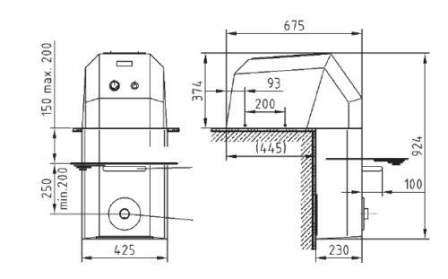 Навесное противотечение Fitstar с одним соплом 2,6 кВт - изображение 3