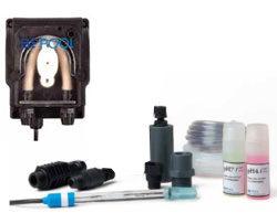 Комплект электрода pH с перистальтическим насосом для проточного электролизера