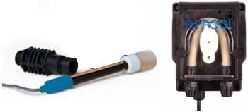 Комплект электрода pH с перистальтическим насосом для проточного электролизера - изображение 2