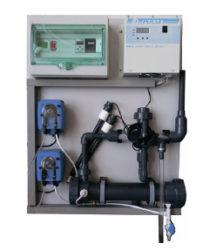 Компактная электролизная установка КЭУ-100, 100 г хлора в час
