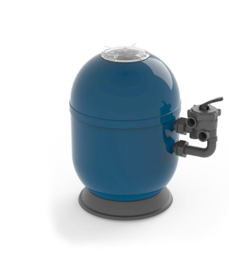 Фильтровальная емкость Ocean, 510 мм, с боковым 6-позиционным клапаном