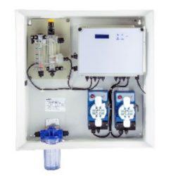 Станция дозации Kontrol Guard Max pH-FCl Amp с мембранными  насосами Kompact