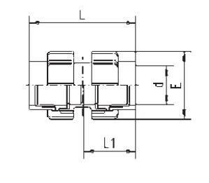 Флекс-система двойная 50 мм зажим х 50 мм зажим - изображение 2