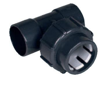 Флекс-система тройник 50 мм клей/50 мм клей/50 мм зажим