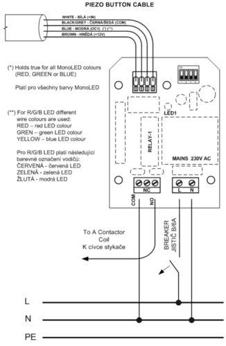 Контроллер для пьезокнопки - изображение 2