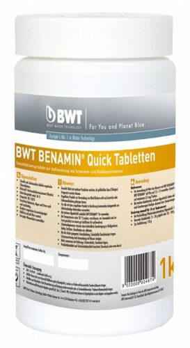 BWT BENAMIN QUICK ТАБЛЕТКИ (табл. 20 гр) 1 кг, Быстрорастворимые таблетки на основе хлора