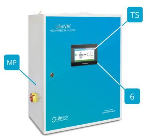УФ установка CLEAR-DIRECT 6 кВт, 315 м3/ч - изображение 2